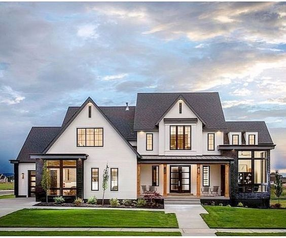 modern farmhouse exteriors 2) farmhouse exterior ideas